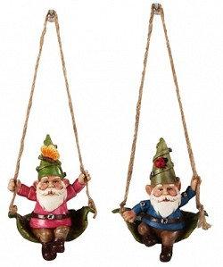 Gnome Ornaments Set