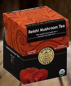 Organic Reishi Mushroom Tea
