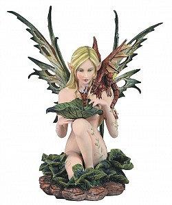 Lake Fairy with Dragon