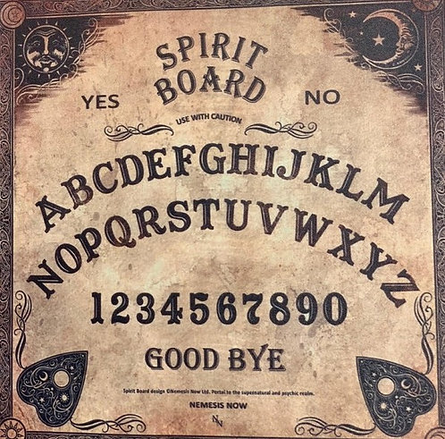 Spirit Boards with unique and mystical designs