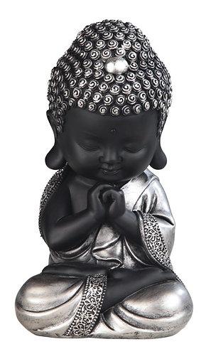 Buddha - Black & Silver