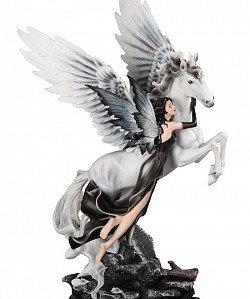 Large-Scale Fairy with Winged Unicorn