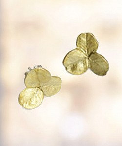 Clover 3 Leaf Post Earrings