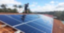Lavado de paneles solares