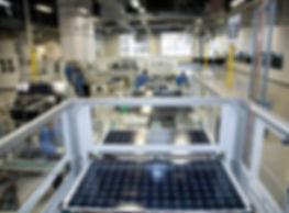 fabricacion de panees solares
