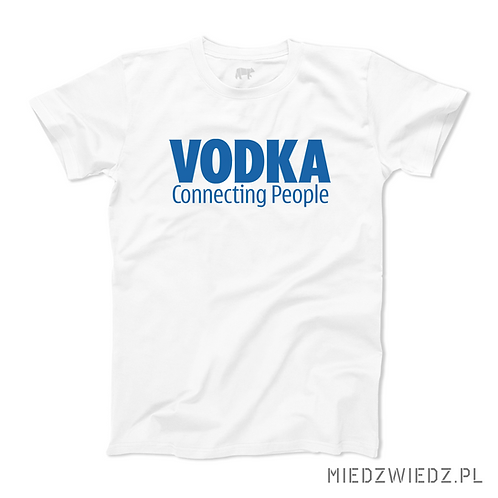 Koszulka - VODKA connecting people