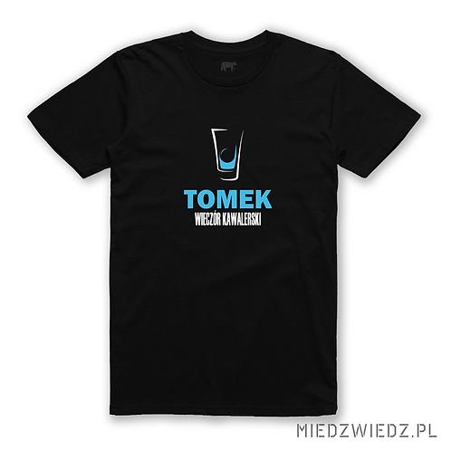 Koszulka - WIECZÓR KAWALERSKI + imię