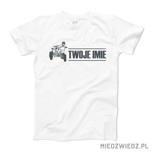 Koszulka - ATV + TWOJE IMIĘ