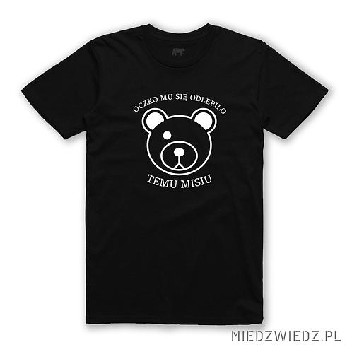 koszulka - Oczko, mu się odkleiło temu misiu
