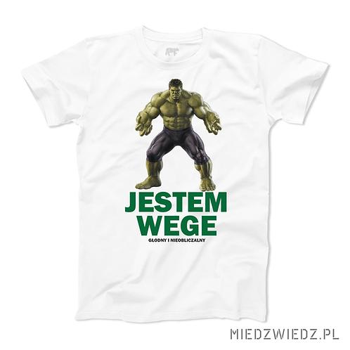 Koszulka - JESTEM WEGE