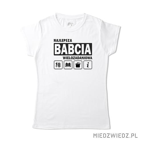 koszulka BABCIA WIELOZADANIOWA