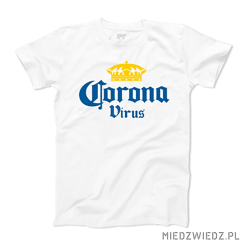 Koszulka - CORONA VIRUS
