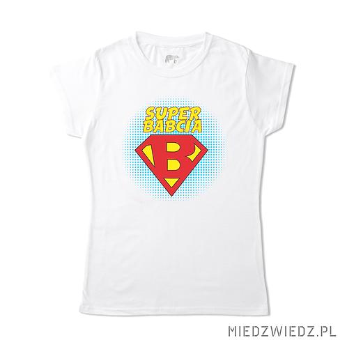 koszulka - SUPER B BABCIA