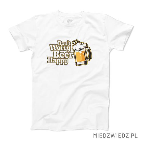 Koszulka - DON'T WORRY BEER HAPPY