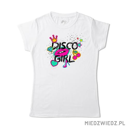 koszulka -DISCO GIRL