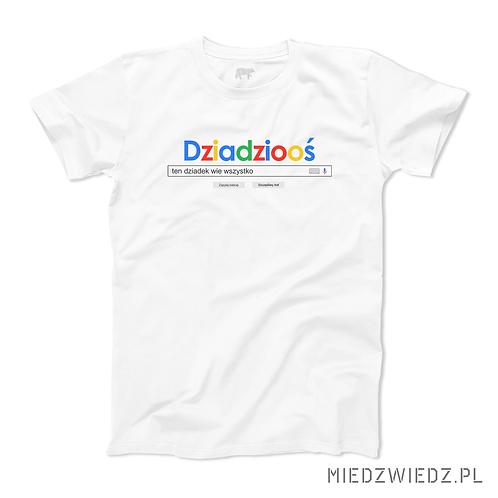 koszulka - DZIADZIOOŚ wie wszytsko