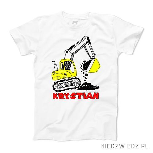 Koszulka - KOPARKA + IMIĘ