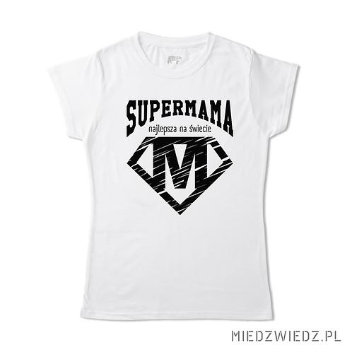 Koszulka - NAJLEPSZA MAMA black