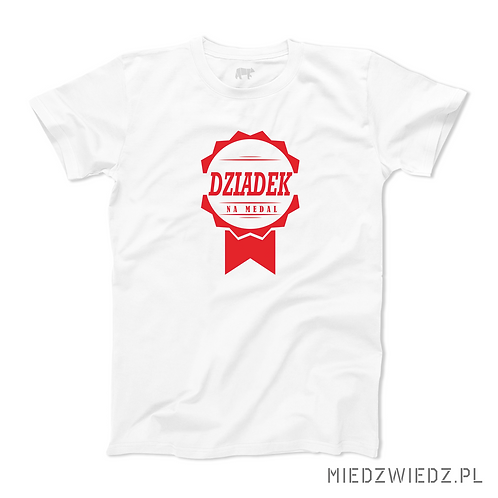 koszulka - DZIADEK NA MEDAL