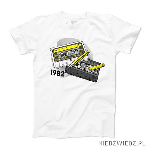 koszulka -RETRO KASETA - rok