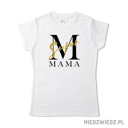 Koszulka - MAMA brokat