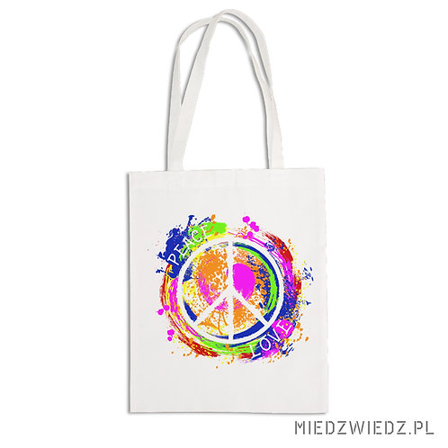 torba ekologiczna - PEACE & LOVE