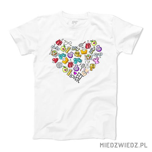 Koszulka - FIT LOVER