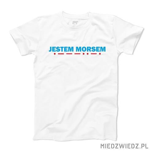 Koszulka - JESTEM MORSEM