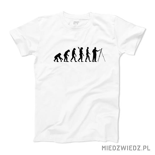Koszulka - EWOLUCJA ARTYSTA MALARZ