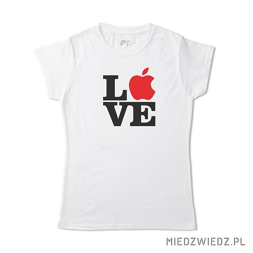 Koszulka - APPLE LOVE