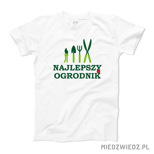 Koszulka - NAJLEPSZY OGRODNIK