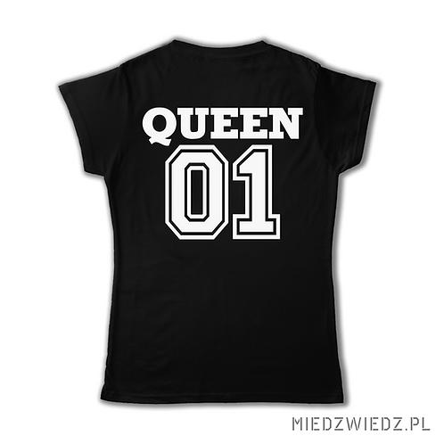 Zestaw 2 koszulek  - QUEEN 01 & KING 01