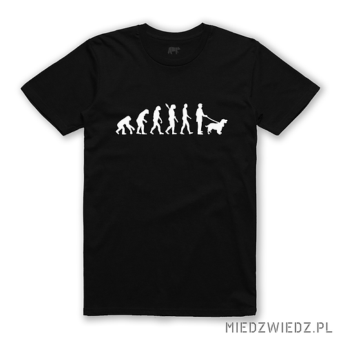 Koszulka - EWOLUCJA DOG LOVER