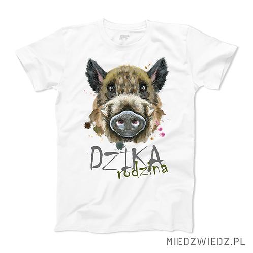 koszulka - DZIKA RODZINA