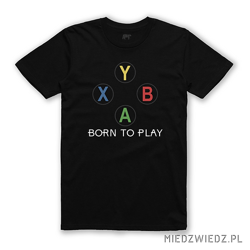 Zestaw 2 koszulek  - XBOX BORN TO PLAY