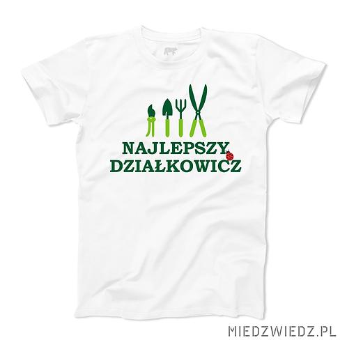 Koszulka - NAJLEPSZY DZIAŁKOWICZ