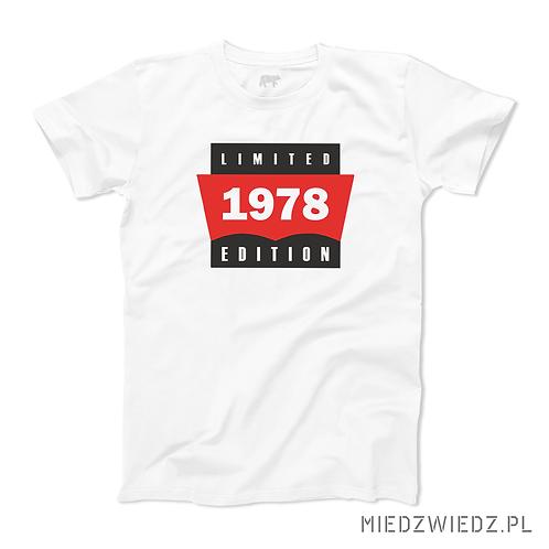 Koszulka - LIMITED EDITION (+ rocznik)