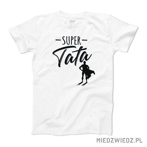 koszulka - SUPER TATA BOHATER