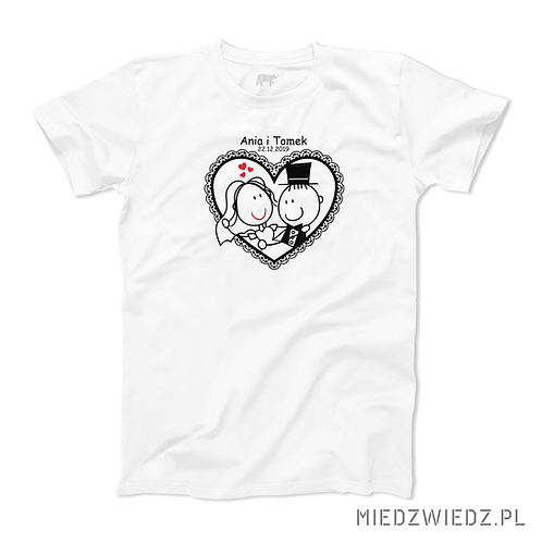koszulka - MŁODA PARA
