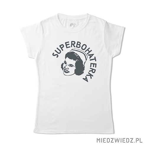 Koszulka - SUPERBOHATERKA