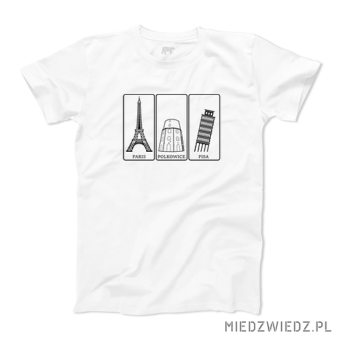 koszulka - trzy WIEŻE - Polkowice