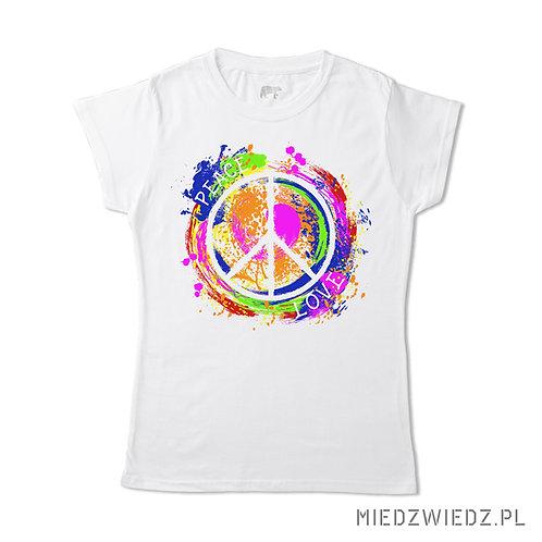 koszulka - PEACE & LOVE
