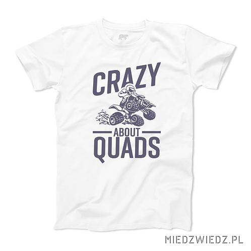 Koszulka - CRAZY ABOUT QUADS