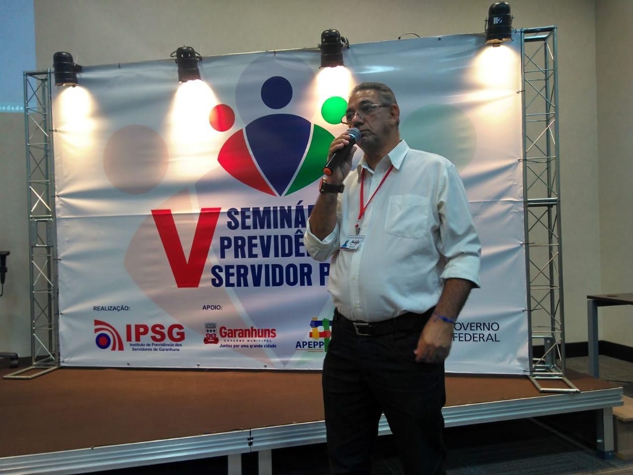 V Seminário sobre Previdência do Servidor ACS e ACE