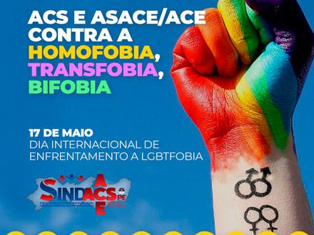 17 de maio - Dia Internacional  de Enfrentamento a LGBTfobia