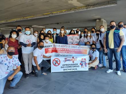 SINDACS-PE participa de ato pela nomeação de novos ASACEs no Recife