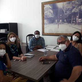 Diretores e Delegadas de Base, entregaram Pauta de Reivindicações no município de Sanharó