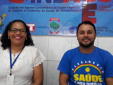 Presidente do SINDACS PE Graciliano Gama e diretora Alcione Gama participam de live (22)