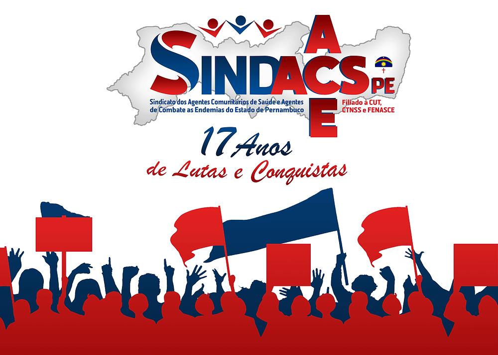 SINDACS PE 17 ANOS