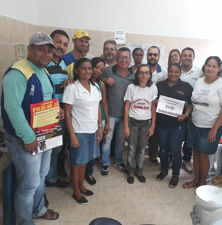 Presidente do SINDACS/PE participa ativamente do 2º Ciclo de Visitas à Base de Recife